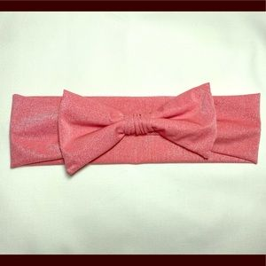 Other - Infant baby bow headband - pink